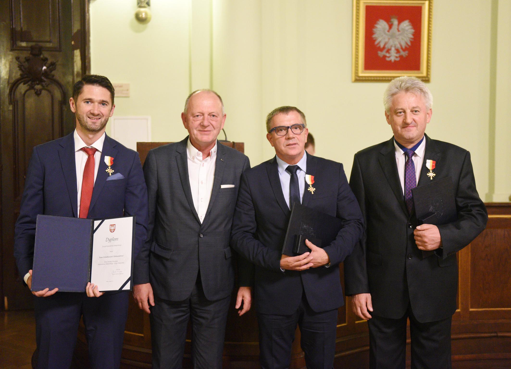 Krzyż Małopolski dla sądeckich działaczy piłki