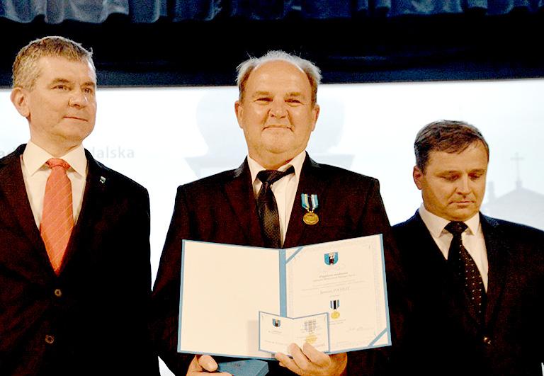 Janusz Pasiut nagrodzony